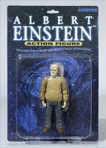 Parents snub traditional action figures in favour of such as historical icons as Einstein and Van Gogh