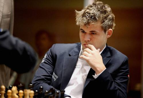 Magnus Carlsen at FIDE World Chess Championship