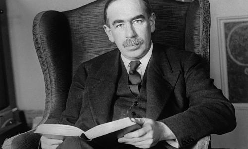 Economist John Maynard Keynes