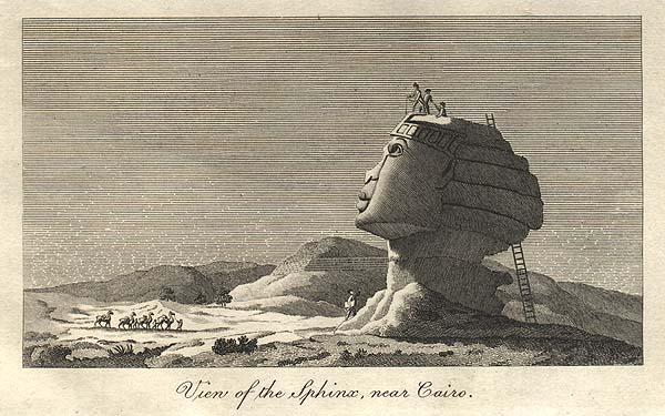 Sphinx of Giza--color 600wide